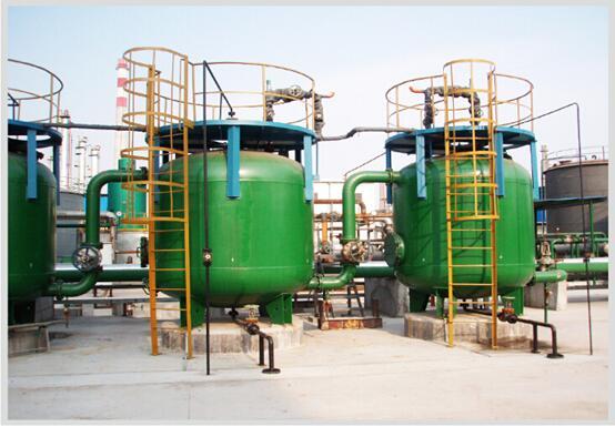 南京碧盾环保150t/h凝结水回收除油除铁装置